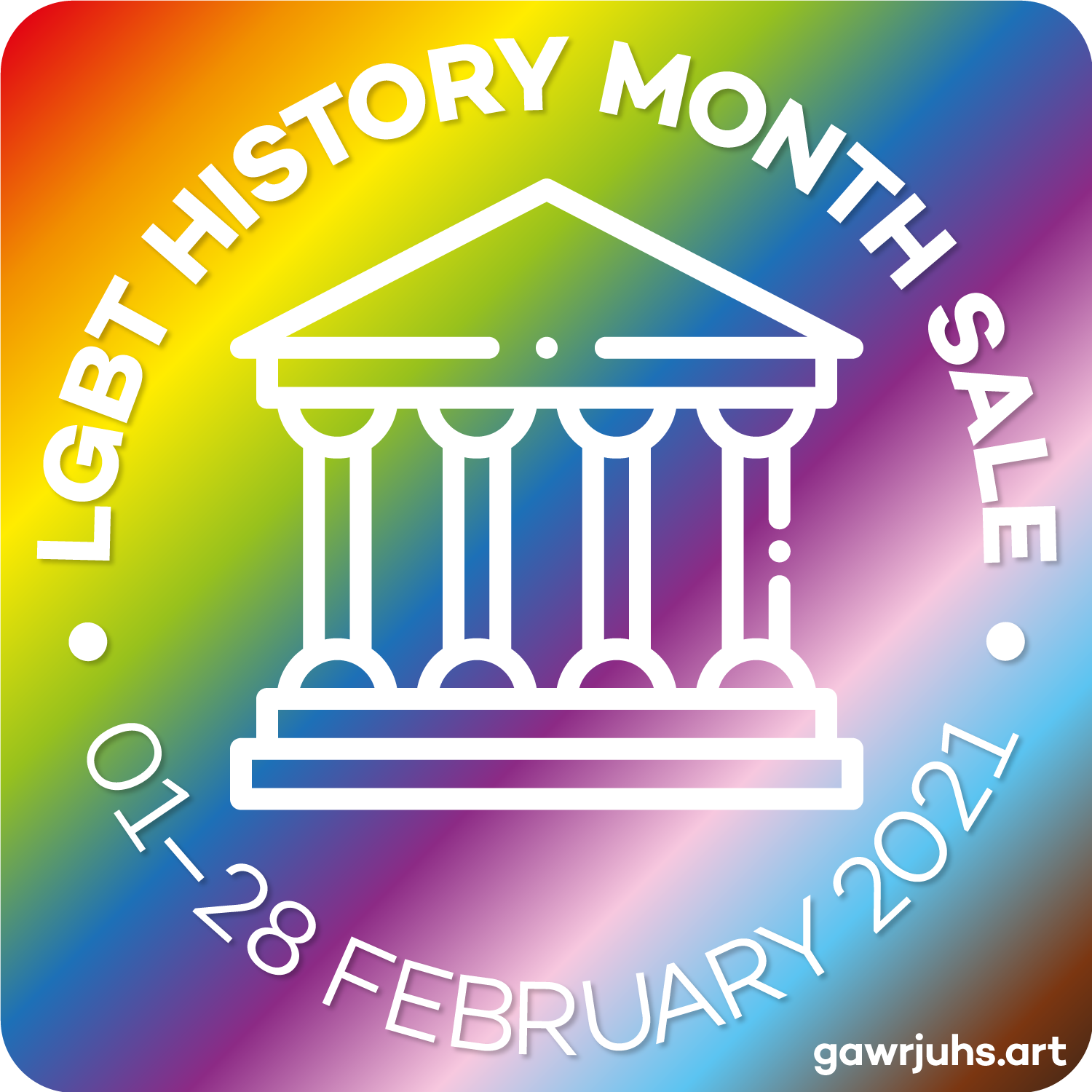 lgbt-history-month-sale-temple-icon